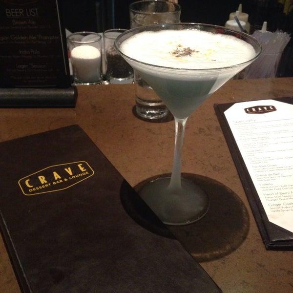 Photo taken at Crave Dessert Bar & Lounge by Christina O. on 8/20/2014