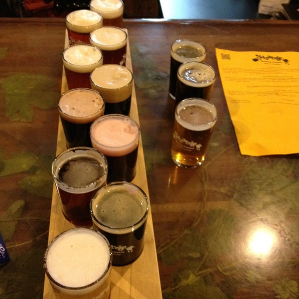 Photo taken at Strange Craft Beer Company by Vegas U. on 2/6/2013