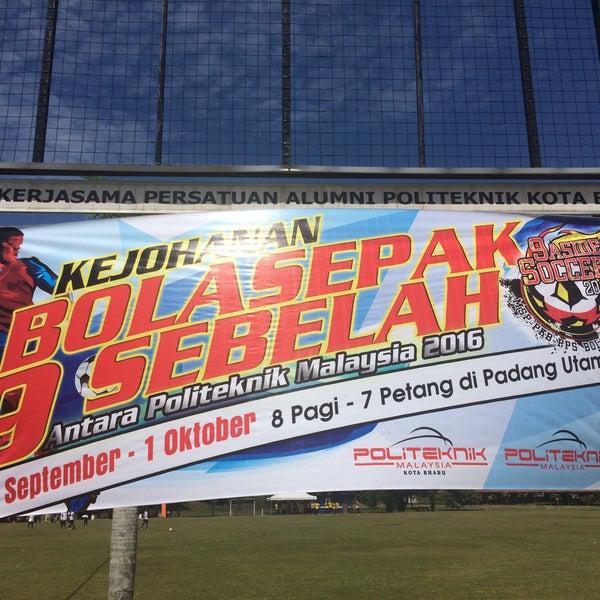 9/30/2016에 Azfar A.님이 Politeknik Kota Bharu (PKB)에서 찍은 사진