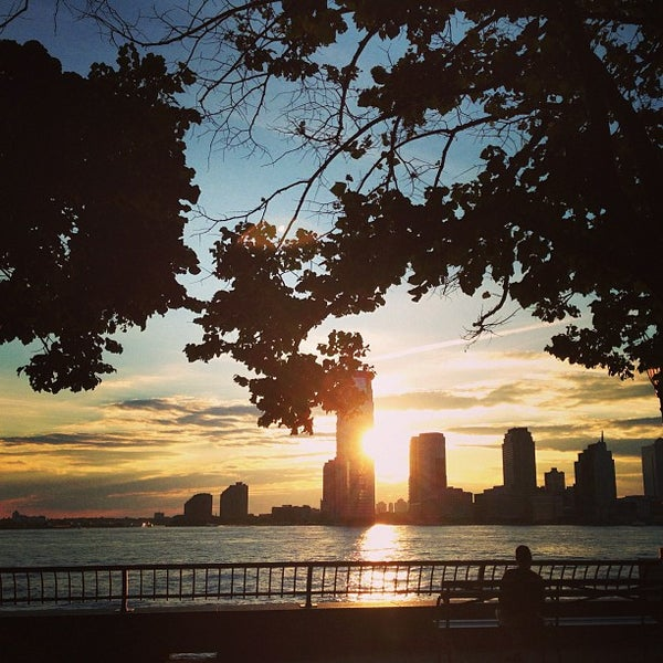 Photo taken at Battery Park City Esplanade by In NYC on 7/30/2013