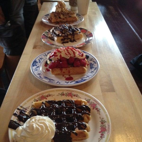 Foto tirada no(a) The Waffle Window por BBY em 7/5/2013