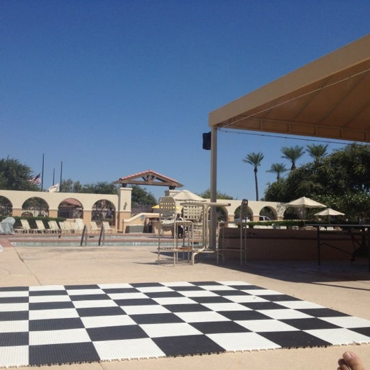 Photo taken at Legacy Golf Resort Poolside by Claudio P. on 9/15/2012