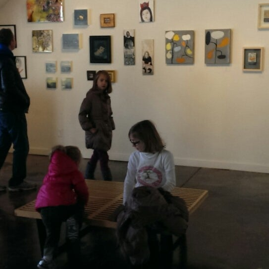 Photo taken at Blue Gallery by Erin B. on 12/7/2013