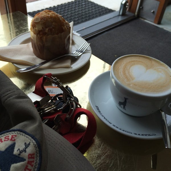 Photo taken at Lokaal Espresso by Han L. on 4/15/2014
