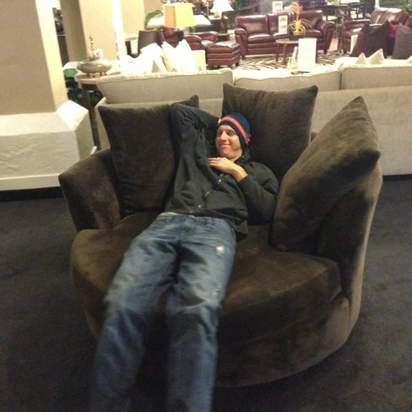 Photo Taken At Mor Furniture For Less By Lauren M. On 12/22/