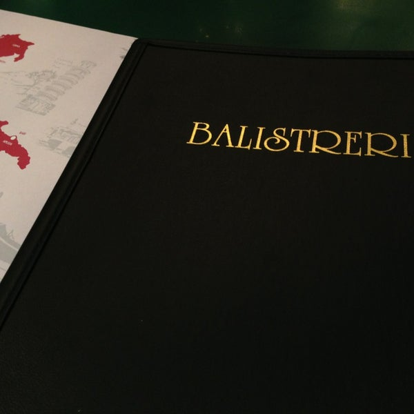 Photo taken at Balistreri's Italian American Ristorante by Kuran M. on 3/27/2013