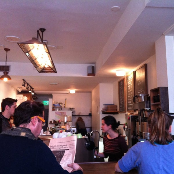 Photo taken at Bodhi Coffee by Lindsey T. on 12/28/2012