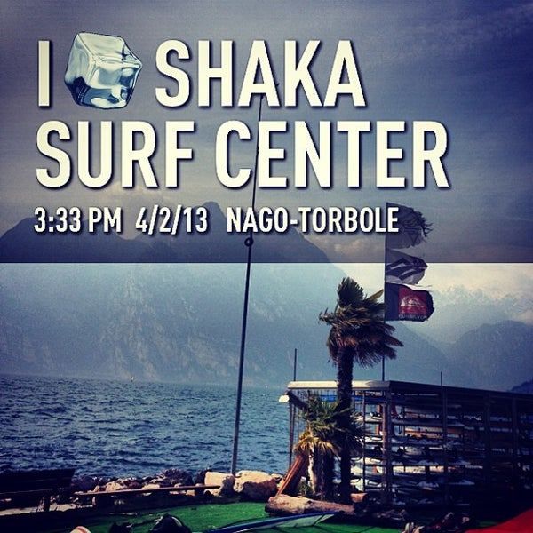 Photo taken at Shaka surf center by Andrea P. on 4/2/2013