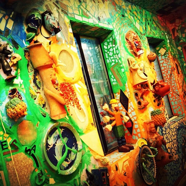 Photo taken at Philadelphia's Magic Gardens by Marco T. on 12/2/2012