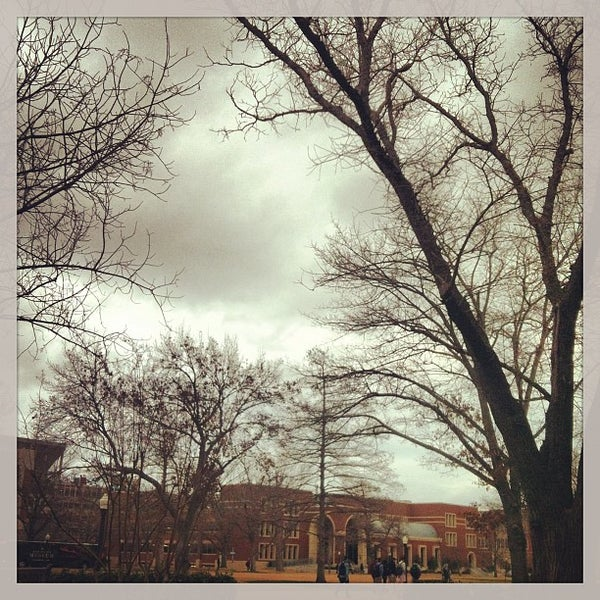 Photo taken at South Oval by Evan N. on 2/7/2013