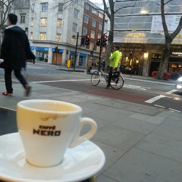 Photo taken at Caffè Nero by Hazel T. on 4/3/2014