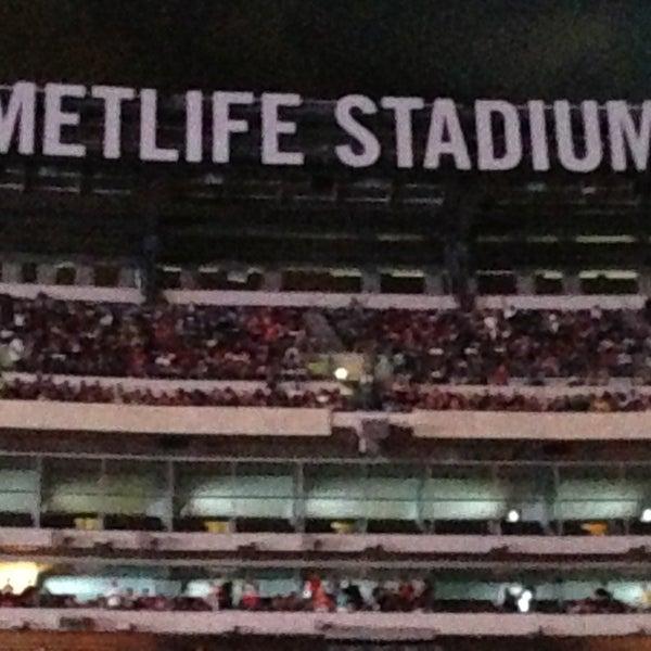 Photo taken at MetLife Stadium by Vikki on 6/3/2013