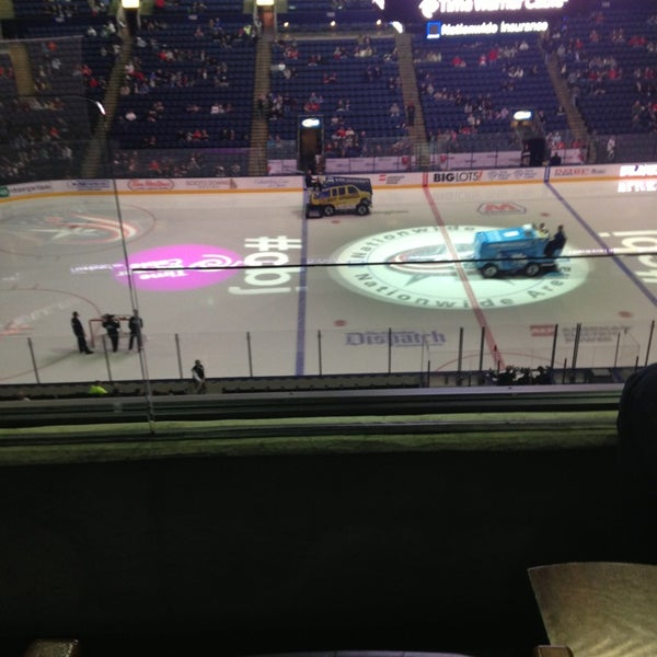 Photo taken at Nationwide Arena by Kevin W. on 2/7/2013