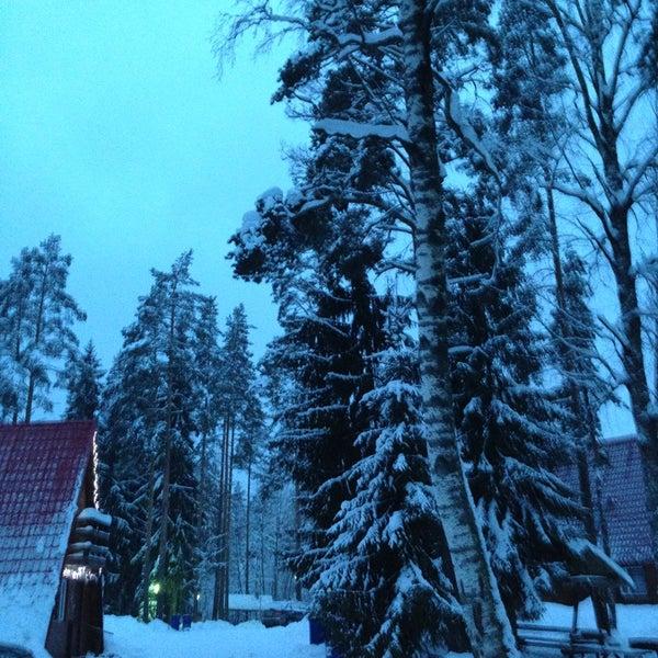 Снимок сделан в Красное озеро пользователем Marina K. 2/15/2013