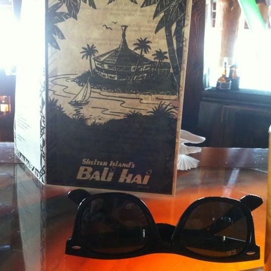 Photo taken at Bali Hai Restaurant by Karen K. on 1/4/2013