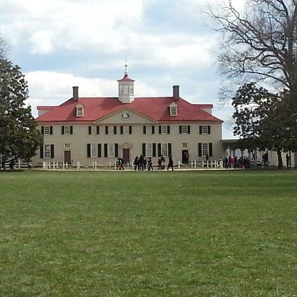 Photo taken at George Washington's Mount Vernon by Michael G. on 3/27/2013