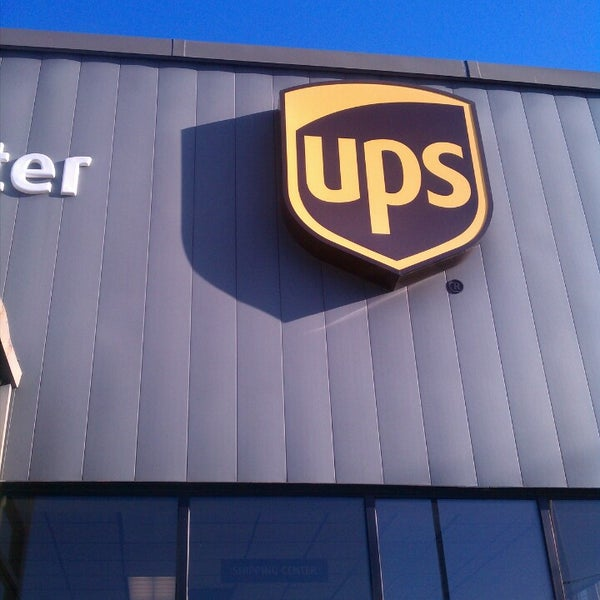 Ups Customer Center Post Office In East Watertown