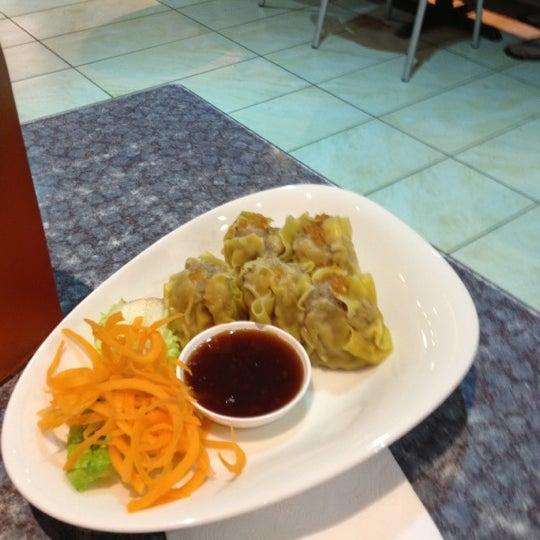 Photo taken at Taste of Thai by Adam Saffian G. on 11/1/2012