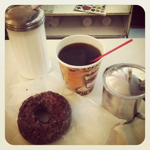 Photo taken at Peter Pan Donut & Pastry Shop by Zach L. on 10/7/2012