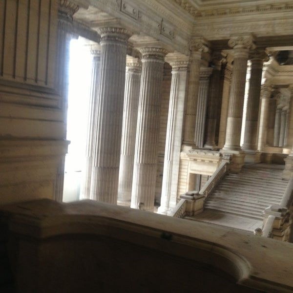 Photo taken at Justitiepaleis / Palais de Justice by Florence E. on 3/7/2013