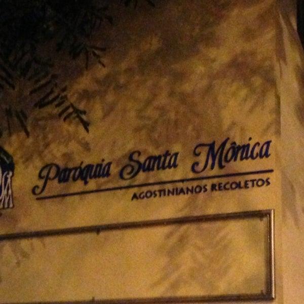 Photo taken at Paróquia Santa Mônica by Marcos Eugenio A. on 6/2/2013