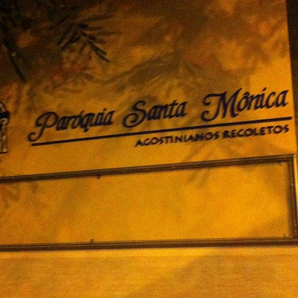 Photo taken at Paróquia Santa Mônica by Marcos Eugenio A. on 2/24/2013