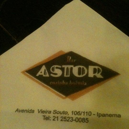 Photo taken at Bar Astor by Daniela M. on 9/23/2012