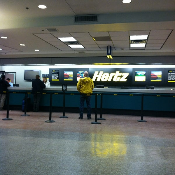 Hertz Rent A Car At Houston Hobby Airport
