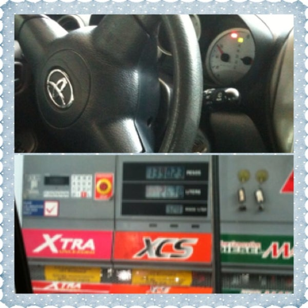 Photo taken at Petron Greenhills by Joycee G. on 1/6/2013