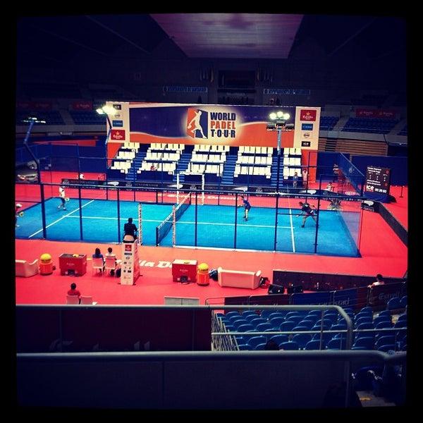 Photo taken at Palacio de los Deportes by Sergio C. on 7/4/2013