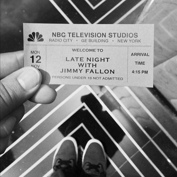 Photo taken at Late Night with Jimmy Fallon by Candido L. on 11/12/2012