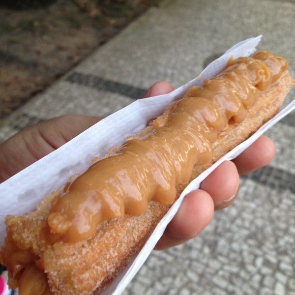 Photo taken at Churros Da Si by Patricia T. on 7/17/2014