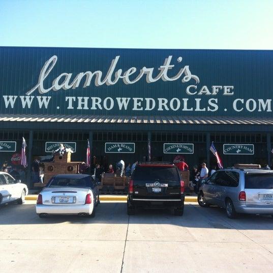 Photo taken at Lambert's Cafe by Demarius C. on 10/20/2012