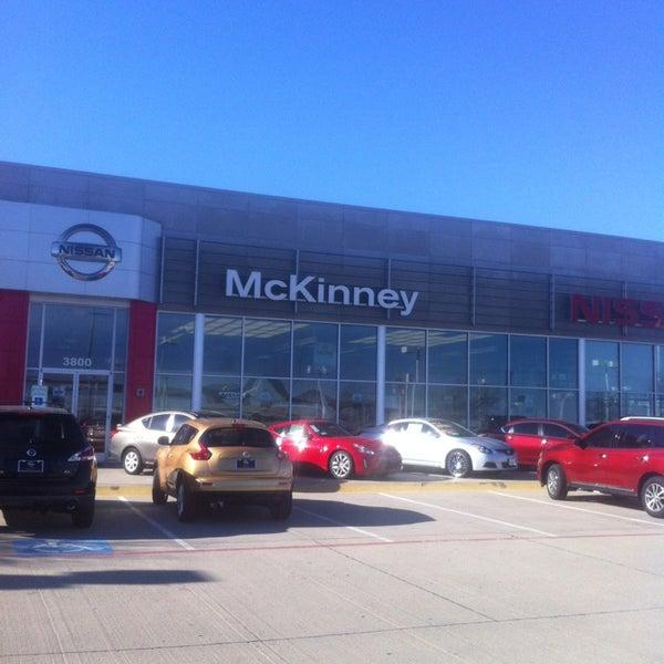 Photo Taken At Nissan Of McKinney By Vonwilhelm On 2/17/2013