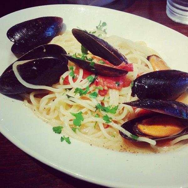 Das Foto wurde bei cucina italiana aria von flyeagle am 2/28/2014 aufgenommen