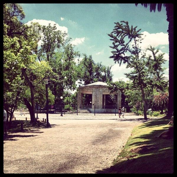 Photo taken at Parque José Enrique Rodó by Gustavo A. on 12/2/2012