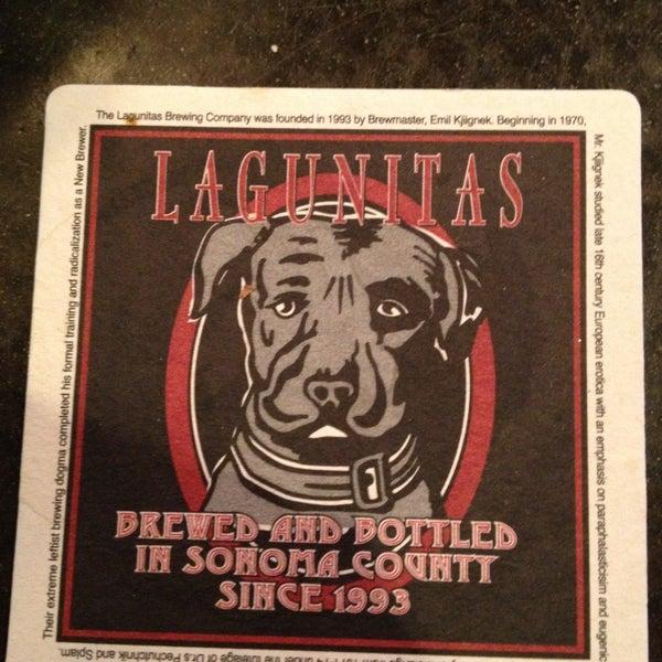 Photo taken at Lagunitas Brewing Company by Jason R. on 4/14/2013