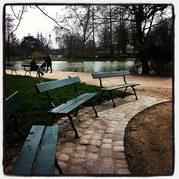 Photo taken at Lac Daumesnil by Anastasia R. on 3/22/2013