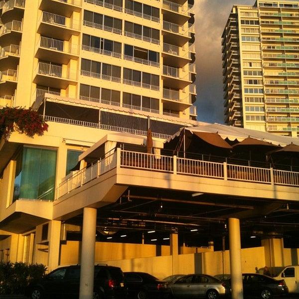 Photo taken at Morimoto Waikiki by Kimo on 1/17/2013