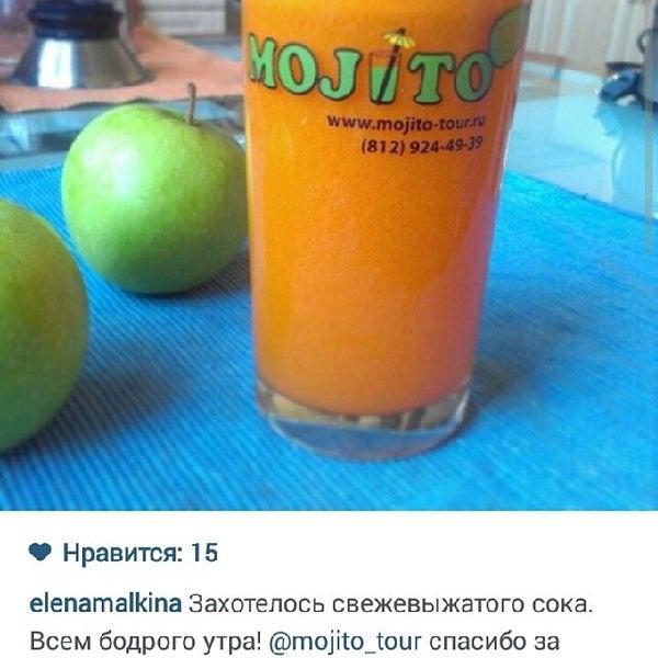 Снимок сделан в Mojito-тур пользователем Olga A. 5/18/2014