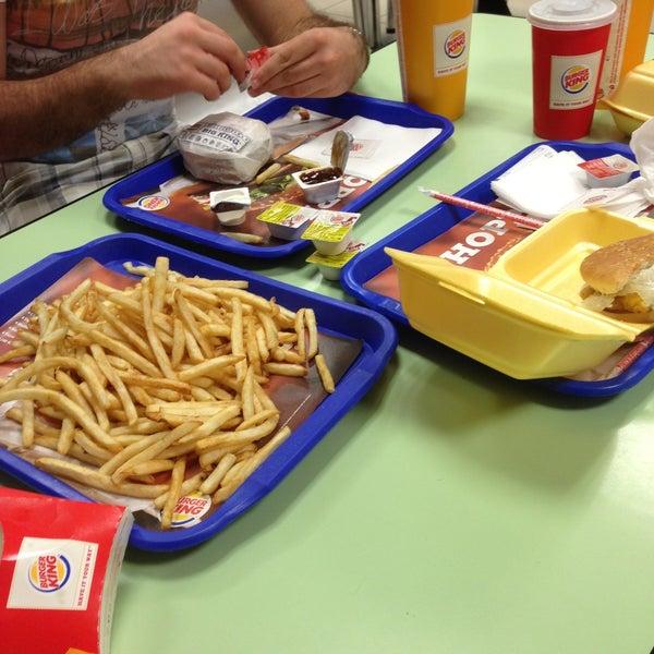 Photo taken at Burger King by Selçuk G. on 5/18/2013