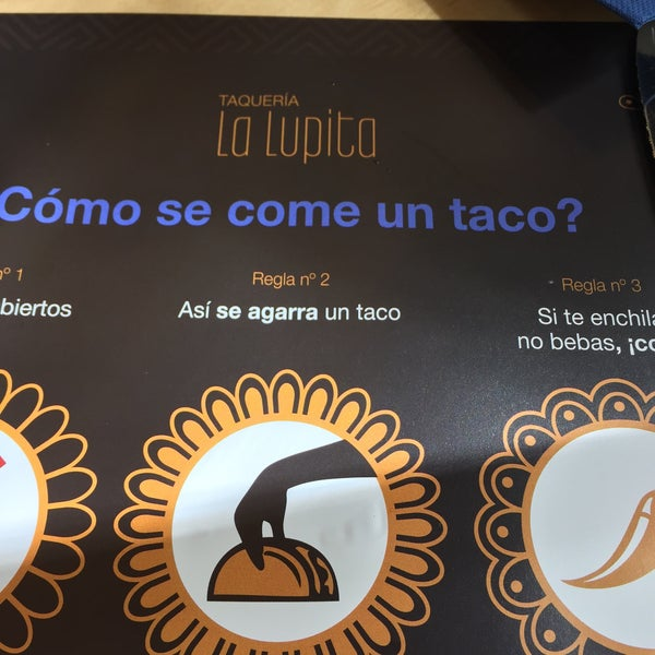 Foto tomada en Taqueria La Lupita por Michael B. el 5/1/2015