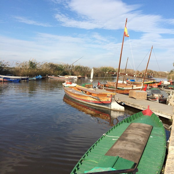 Photo taken at La Albufera by Michael B. on 12/13/2014