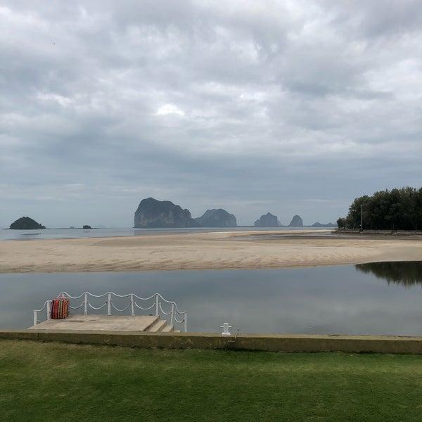 Photo taken at Anantara Si Kao Resort And Spa by Michael B. on 1/5/2018