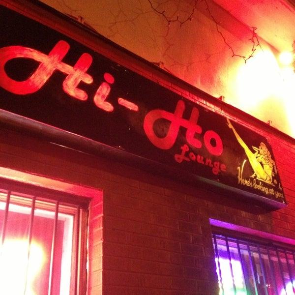 Photo taken at Hi-Ho Lounge by Michael B. on 3/12/2013
