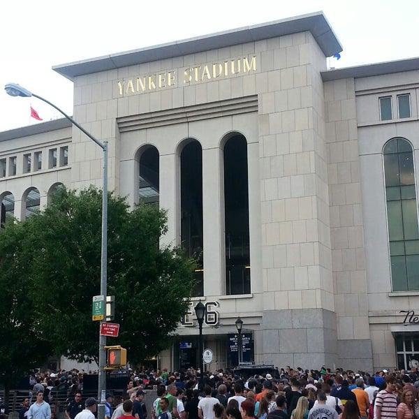 Photo taken at Yankee Stadium by Peta C. on 7/26/2013