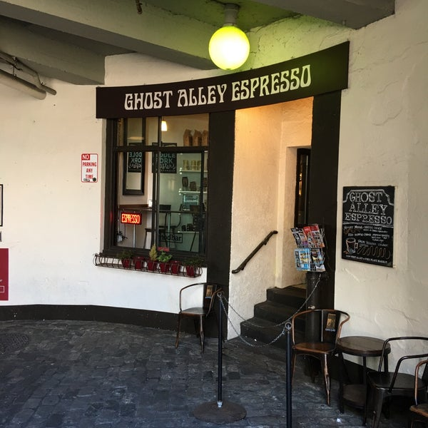 Photo taken at Ghost Alley Espresso by Doug V. on 7/15/2016