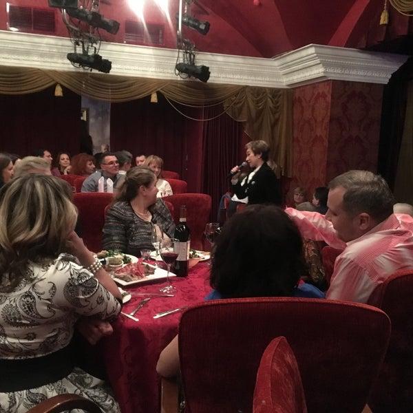 Снимок сделан в Театр-кабаре на Коломенской/ The Private Theatre and Cabaret пользователем Евгения М. 1/14/2017