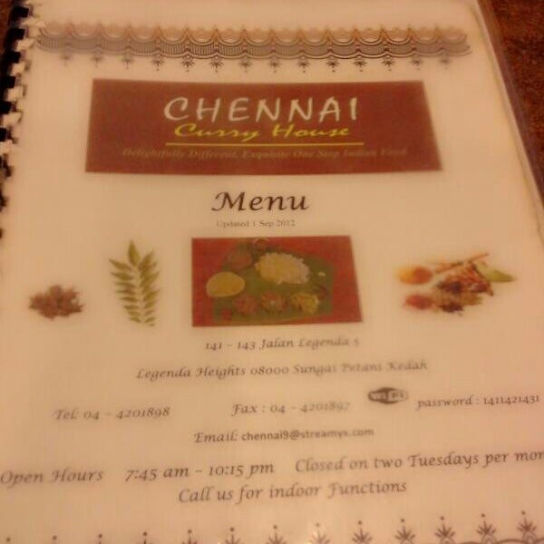 Photo taken at Chennai Curry House by Ima on 1/9/2014