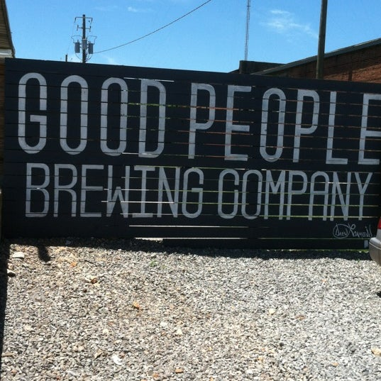 Photo taken at Good People Brewing Company by Tony A. on 5/25/2013